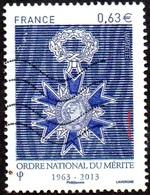 Oblitération Moderne Sur Timbre De France N° 4830 - Ordre National Du Mérite - France