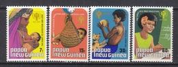 PAPUA  NEW  GUINEA  508-11      **   I.Y.C.  MOTHER & CHILD, BOY, GIRL - Papua New Guinea