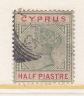 CYPRUS  28  (o)  Wmk 2 - Cyprus (...-1960)