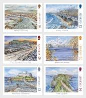 H01 Guernsey 2018 Europa Bridges MNH Postfrisch - Guernsey