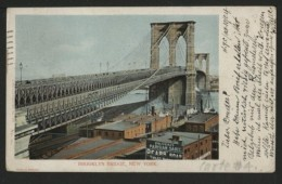 BROOKLYN BRIDGE , NEW YORK - Ponts & Tunnels
