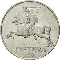 Monnaie, Lithuania, 5 Centai, 1991, TTB, Aluminium, KM:87 - Lituanie
