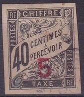 Indochine, Taxes, Yvert N° 2 Oblitéré - Indochina (1889-1945)