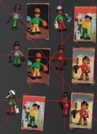 CHARLY KIT DULCOP..FIGURINES TYPE PLAYMOBIL - Figurines