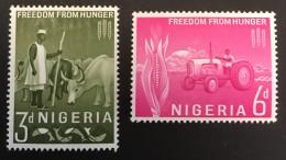 Nigeria   - MH* -  1963 - #  141/142 - Nigeria (1961-...)