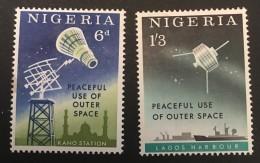 Nigeria   - MH* -  1963 - #  143/144 - Nigeria (1961-...)