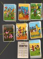 JEU DE CARTE PUBLICITAIRE CAFES MEO.. 7 FAMILLES..SANS BOITE...RARE - Jeux De Société