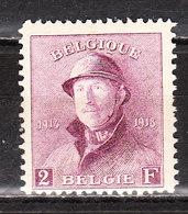 176**  Roi Albert Casqué - LA Bonne Valeur - MNH** - Vendu à 10% Du COB!!!! - 1919-1920 Albert Met Helm