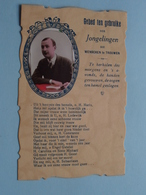 Gebed Ten Gebruike Der JONGELINGEN Die WENSCHEN Te TROUWEN ( P.F.G ) Anno 19?? ( 1 Carte / Voir Photo ) ! - Christianity