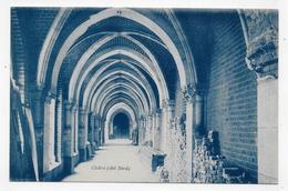 (RECTO / VERSO) GODEWAERSVELDE - N° 12 - ABBAYE DE SAINTE MARIE DU MONT - CLOITRE - VIE RELIGIEUSE - TEXTE - CPA - France