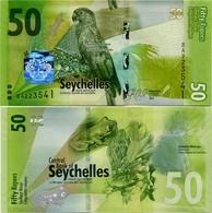 SEYCHELLES       50 Rupees       P-49       2016       UNC  [ Sign. Abel ] - Seychelles