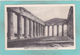 Old Postcard Of Segesta, Sicily, Italy ,K5. - Italia