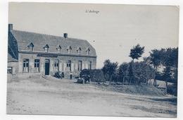 (RECTO / VERSO) GODEWAERSVELDE - N° 20 - ABBAYE DE SAINTE MARIE DU MONT - AUBERGE AVEC VIEILLE VOITURE TOPOGRAPHIE - CPA - France