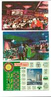 LAS VEGAS - 3 Postcards 1966 - Sands Hôtel - Las Vegas
