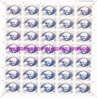 Mandela FULL SHEET Indian Edition From ( Gandhi Mandela India South Africa Joint Issue Stamps ) - Afrique Du Sud (1961-...)