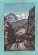Old Postcard Of Schynige Platte-Bahn,Bernese Highlands,Switzerland,,K6. - BE Berne
