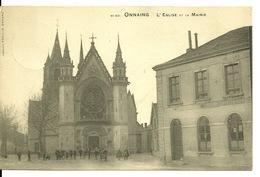 59 - ONNAING / L'EGLISE ET LA MAIRIE - Other Municipalities