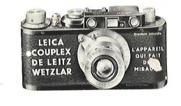 COPIE D'UN APPAREIL-PHOTO LEICA COUPLEX DE LEITZ WETZLAR L'APPAREIL QUI FAIT DES MIRACLES DEFAUTS VOIR SCAN - Autres