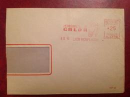 Lyon Calor - Marcophilie (Lettres)