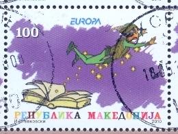 MK 2010-542 EUROPA CEPT, MACEDONIA, 1 X 1v, Used - Macédoine