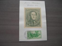 """BELG.1946 737 Herdenkingskaart """"dag Van De Postzegel"""" - ....-1951"""