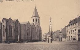 MIDDELKERKE  -  Eglise Et Monument Des Morts - Middelkerke