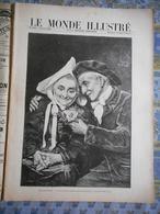 LE MONDE ILLUSTRE 08/04/1899 DE CONNINCK CAUSE PHILIPPINE ARMEE TAGALE COMBATS DE COQ PARIS AUTEUIL CASTEL BERANGER - 1850 - 1899