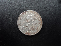 LUXEMBOURG : 10 CENTIMES   1921    KM 31     TTB - Luxembourg