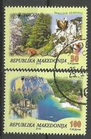 MK 2016-755-6 EUROPA CEPT, MAKEDONIA, 1 X 2v, Used - Macedonia