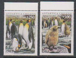 Chile 1996 Antarctica / Penguins 2 V  ** Mnh  (39722) - Postzegels