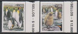 Chile 1996 Antarctica / Penguins 2v  ** Mnh  (39722A) - Stamps