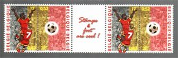 België/Belgique 2000 Stamps & Foot Are Cool (Raymond Reding) - Blokken 1962-....