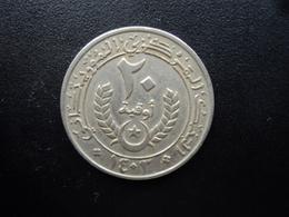 MAURITANIE : 20 OUGUIYA  1403 / 1983   KM 5    TTB - Mauritania