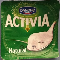 Egypt - Couvercle De Yoghurt  Danone Activa (foil) (Egypte) (Egitto) (Ägypten) (Egipto) (Egypten) Africa - Milk Tops (Milk Lids)