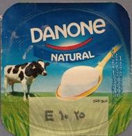 Egypt - Couvercle De Yoghurt  Danone NAtural (foil) (Egypte) (Egitto) (Ägypten) (Egipto) (Egypten) Africa - Milk Tops (Milk Lids)