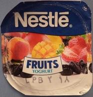 Egypt - Couvercle De Yoghurt  Nestle Fruits (foil) (Egypte) (Egitto) (Ägypten) (Egipto) (Egypten) Africa - Milk Tops (Milk Lids)