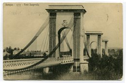 CPA - Carte Postale - France - Bombas - Pont Suspendu - 1904 ( CP4570 ) - France