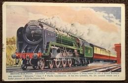 "British Railways.  Eastern Region.  ""Britannia"" Class 7 P Pacific Locomotive - Trains"