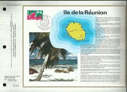 CEF N° 392 . ÎLE DE LA REUNION . 05 FEVRIER 1977 . SAINT - DENIS . - FDC