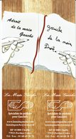 """Puzzle De 2 Marque Pages """" LA MAIN GAUCHE """" - Marque-Pages"""