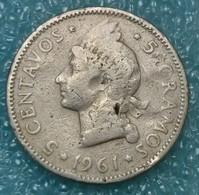 Dominican Republic 5 Centavos, 1961 - Dominicana