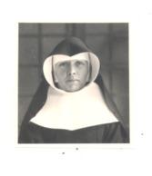 Photo (format Carte D'identité) D'une Soeur, Nonne, Nun  (b232) - Personnes Anonymes