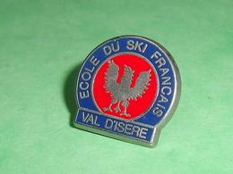 Pin's / Sport D'hiver / Ski : école De Ski , Val Disere    TB1Y - Sports D'hiver