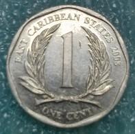 Eastern Caribbean 1 Cent, 2008  ↓price↓ - Caraïbes Orientales (Etats Des)