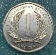 Eastern Caribbean 1 Cent, 2008  -0718 - Caraibi Orientali (Stati Dei)