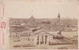 ITALIE, MILANO, Panorama, Photographie Argentique 13x9,5, Début 20éme, Collée Sur Carton - Photography