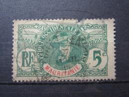 "VEND TIMBRE DE MAURITANIE N° 4 , CACHET "" PORT-ETIENNE "" !!! - Used Stamps"
