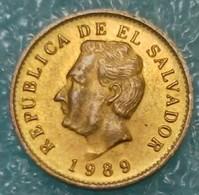 El Salvador 1 Centavo, 1989  -0746 - Salvador