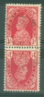 India: 1937/40   KGVI    SG250a     1a  [tete-beche]      Used - India (...-1947)