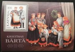 Latvia  1996 Traditional Costume S/S - Lettonie